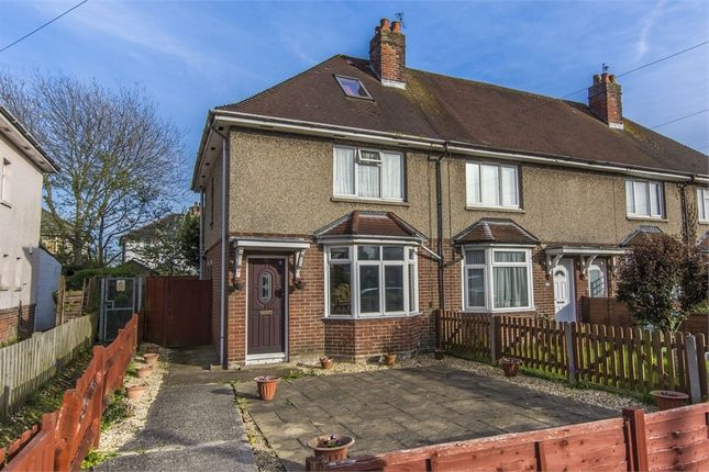 Thumbnail End terrace house to rent in Acacia Road, Merryoak, Southampton, Hampshire