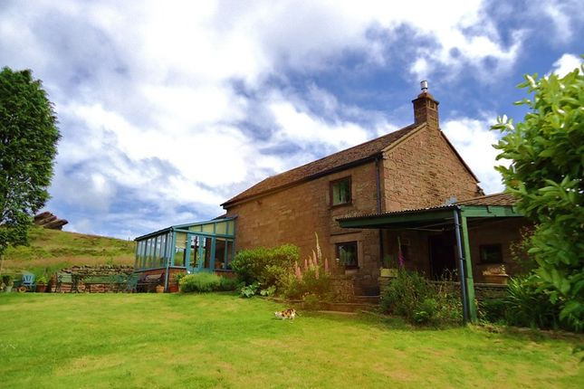 Thumbnail Detached house for sale in Upperhulme, Near Leek, Staffordshire