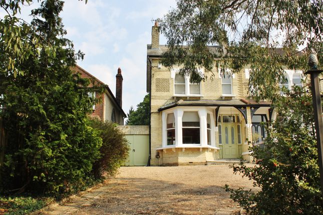 Thumbnail Semi-detached house for sale in Epping New Road, Buckhurst Hill