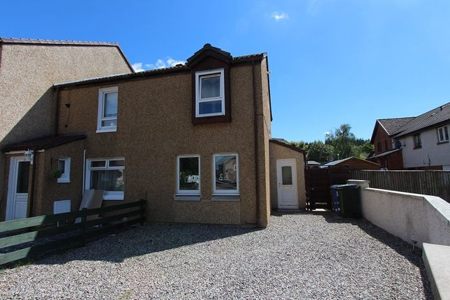 Thumbnail End terrace house for sale in 31 Blackwell Court, Culloden, Inverness