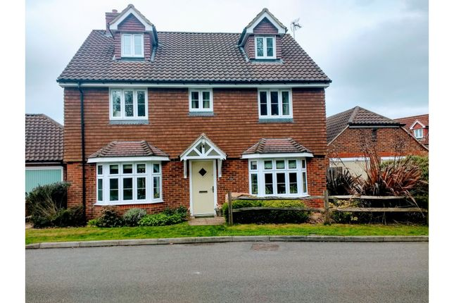 Thumbnail Detached house for sale in New Heritage Way, Lewes