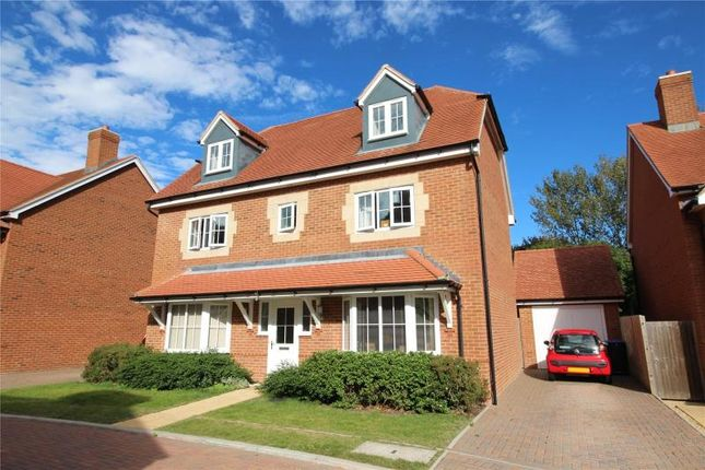 Thumbnail Detached house for sale in Sanditon Way, Broadwater, Worthing