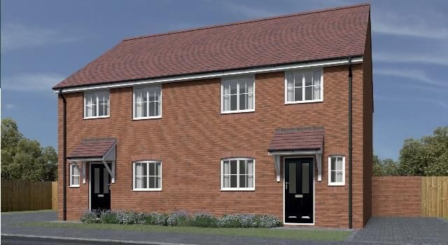"""3 bed semi-detached house for sale in Plot 143 St Mary's Place """"The Conway"""", Kidderminster DY10"""