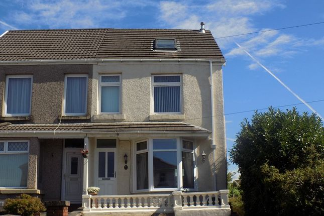 Thumbnail Semi-detached house for sale in Penywern Road, Neath, Neath Port Talbot.