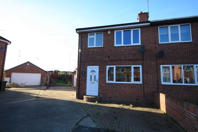 Thumbnail Semi-detached house for sale in Halmshaw Terrace, Bentley