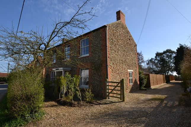 Thumbnail Detached house for sale in High Street, Whissonsett, Dereham
