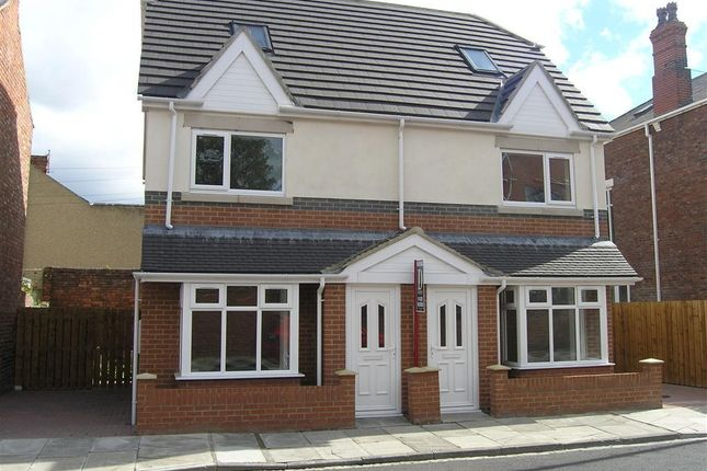 Thumbnail Semi-detached house to rent in Welldeck Road, Hartlepool