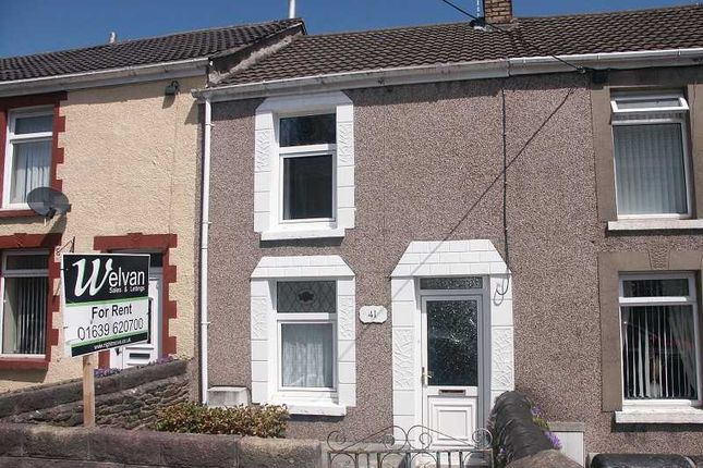 Thumbnail Terraced house to rent in Bethlehem Road, Skewen, Neath.