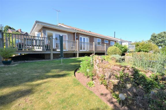 Thumbnail Detached bungalow for sale in Withy Close, Tiverton
