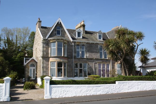 Thumbnail Maisonette for sale in Answorth, 63 Mountstuart Road, Rothesay, Isle Of Bute