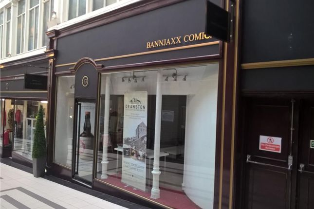 Thumbnail Retail premises to let in 13 Stirling Arcade, Stirling