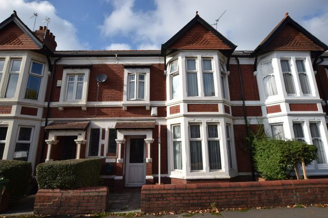 Thumbnail Terraced house for sale in Waterloo Gardens, Penylan, Cardiff
