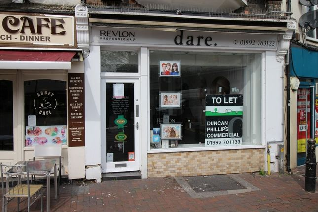 Thumbnail Commercial property to let in Market Square, Waltham Abbey, Essex