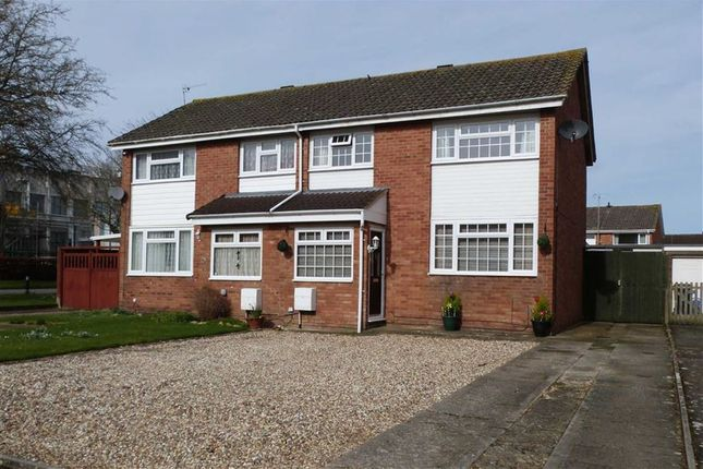 Thumbnail Semi-detached house for sale in Robinson Close, Swindon