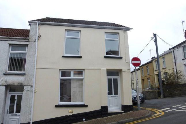 Thumbnail End terrace house to rent in Alma Street, Merthyr Tydfil