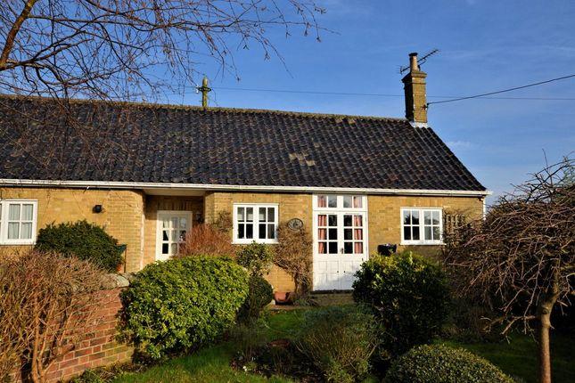 Thumbnail Semi-detached bungalow to rent in Melton Park, Melton Constable