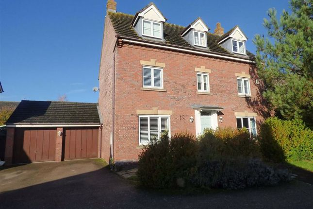 Thumbnail Detached house for sale in Lattimore Close, West Haddon, Northampton