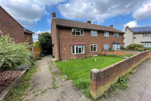 Thumbnail Semi-detached house for sale in Birchwood Close, Hatfield, Hertfordshire