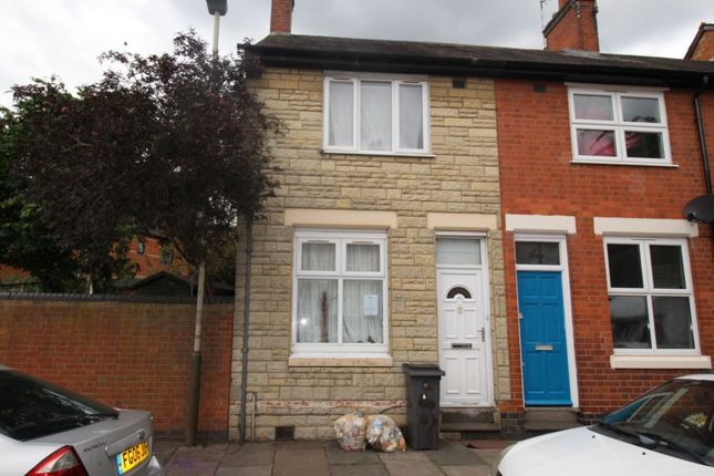 Thumbnail 2 bed terraced house to rent in Hoby Street, Leicester