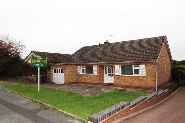Thumbnail Bungalow to rent in Brotherton Avenue, Redditch