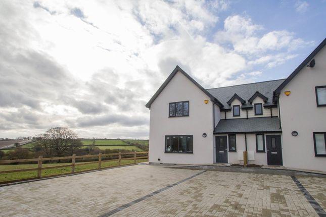 Thumbnail Semi-detached house for sale in Lamerton, Tavistock