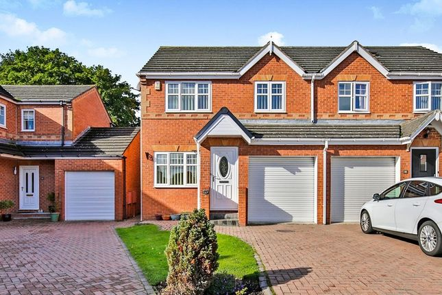 Thumbnail Semi-detached house for sale in Hazel Leigh, Great Lumley, Chester Le Street