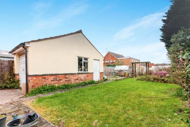 Garden of Central Avenue, Syston, Leicester, Leicestershire LE7