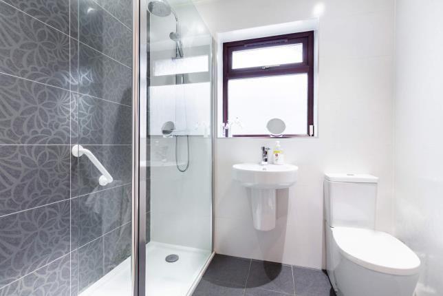Shower of Millfield View, Erskine, Renfrewshire, . PA8