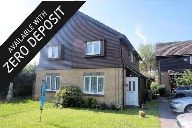 Thumbnail Link-detached house to rent in Cerne Close, West End, Southampton