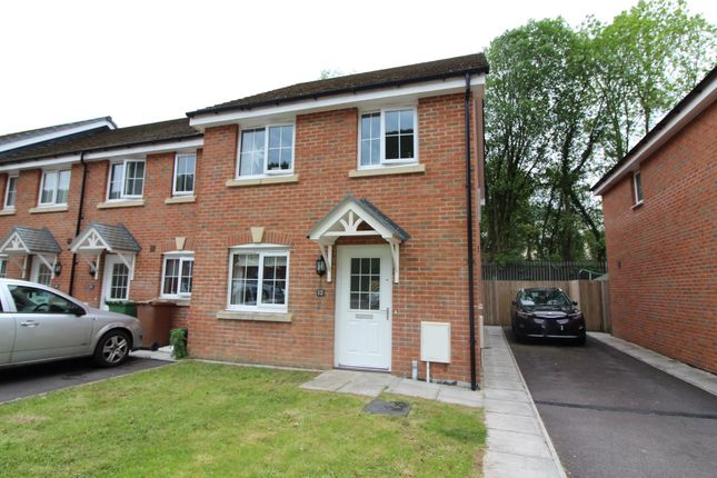 Thumbnail End terrace house for sale in Woodland View, Abercarn, Newport