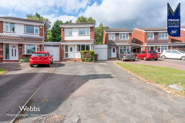 3 bed link-detached house to rent in Littleworth Road, Hednesford, Cannock WS12