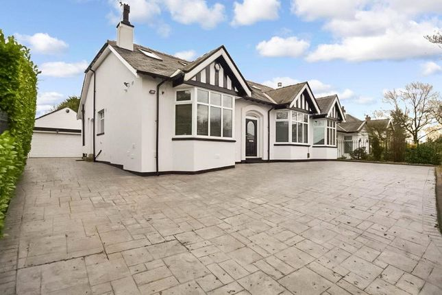 Thumbnail Bungalow for sale in Ashbourne Grove, Whitefield, Manchester, Greater Manchester