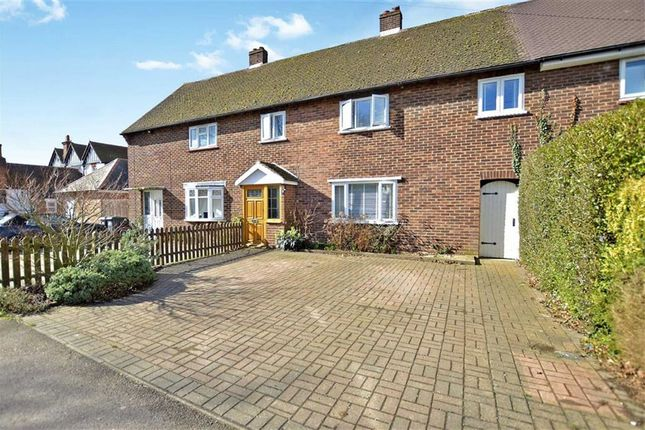 Thumbnail Terraced house to rent in Barn Mead, Toot Hill, Ongar
