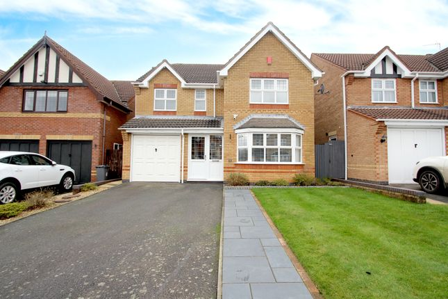 Thumbnail Detached house for sale in Shortfield Close, Balsall Common, Coventry