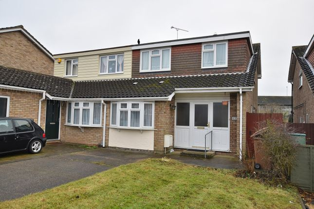 Thumbnail Semi-detached house for sale in Longacre, Chelmsford