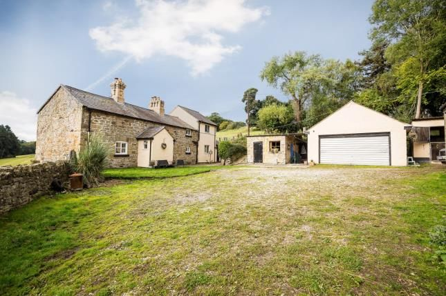 Thumbnail Detached house for sale in Rhosesmor Road, Northop, Mold, Flintshire