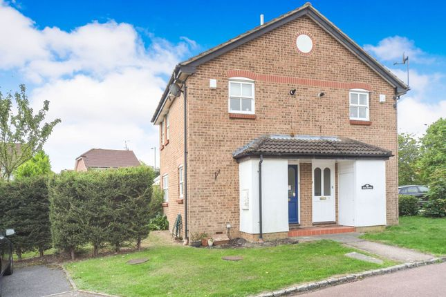 Thumbnail End terrace house to rent in Mary Mead, Warfield, Bracknell