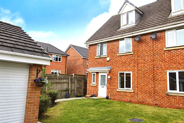 Thumbnail Semi-detached house for sale in Nuffield Close, Bolton