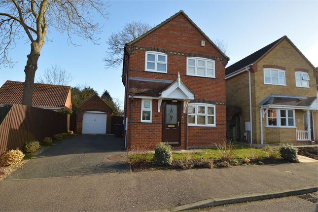 Thumbnail Detached house to rent in Centenary Way, Brampton, Huntingdon, Cambridgeshire