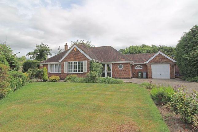 Thumbnail Detached bungalow for sale in Warren Lea, Poynton, Stockport