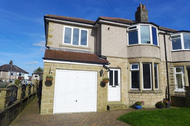 Thumbnail Semi-detached house for sale in Sunnybank Crescent, Yeadon, Leeds