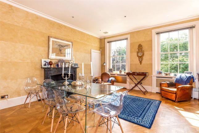 Dining Room of Warwick Square, Pimlico, London SW1V