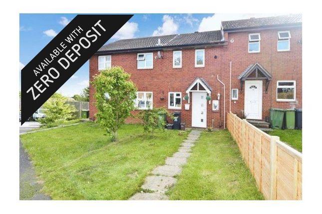 Thumbnail Terraced house to rent in Diligence Close, Bursledon, Southampton