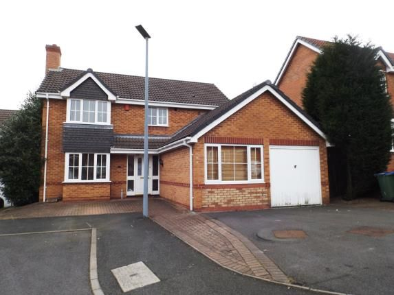 Thumbnail Detached house for sale in Huskison Close, Oldbury, West Midlands