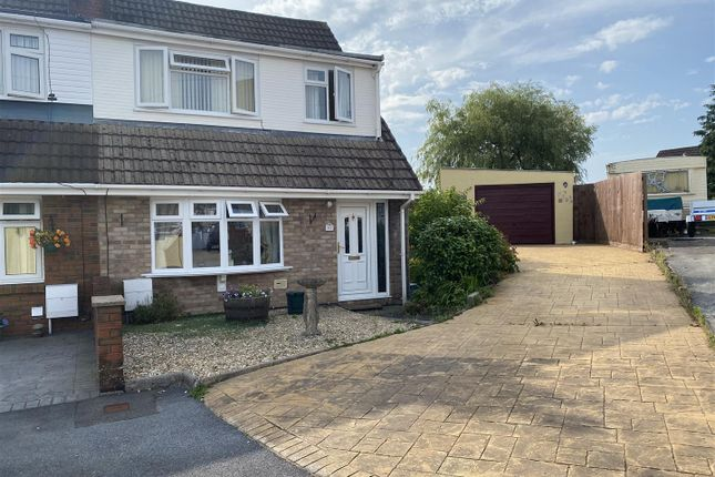 Thumbnail Semi-detached house for sale in Teglan Park, Tycroes, Ammanford