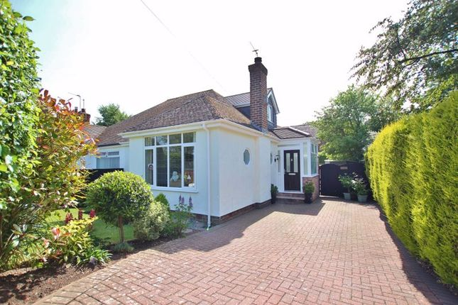 Thumbnail Semi-detached bungalow for sale in Fleck Lane, West Kirby, Wirral