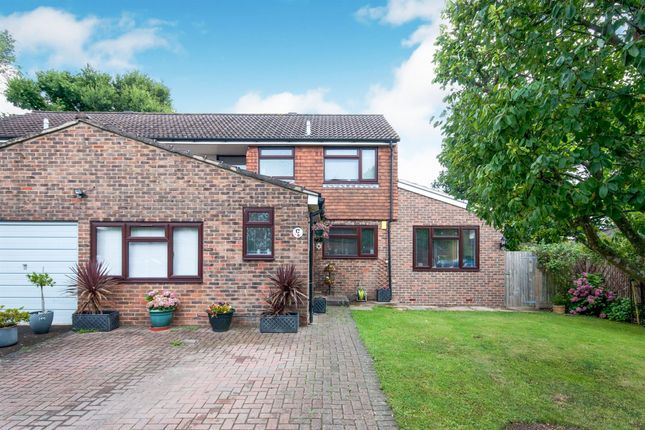 Thumbnail Semi-detached house for sale in Swann Close, Burgess Hill