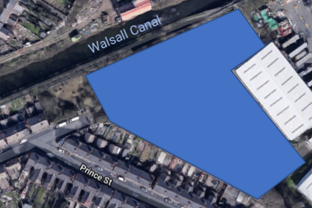 Thumbnail Land to let in Regal Drive / Prince Street, Walsall