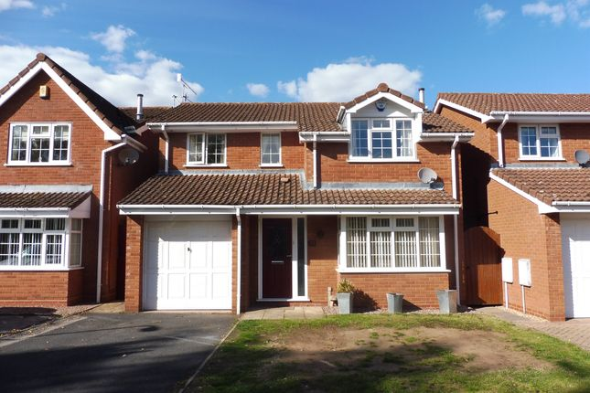 Thumbnail Detached house for sale in Golden Hind Drive, Stourport-On-Severn
