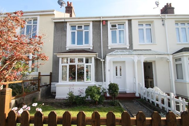 3 bed terraced house for sale in Glenavon Road, Plymouth